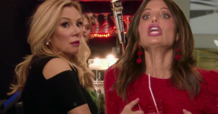 'RHONY' Bad Apple of the Week: Oral Sex Talk and Spanking Rule TMI-Filled Speed Dates