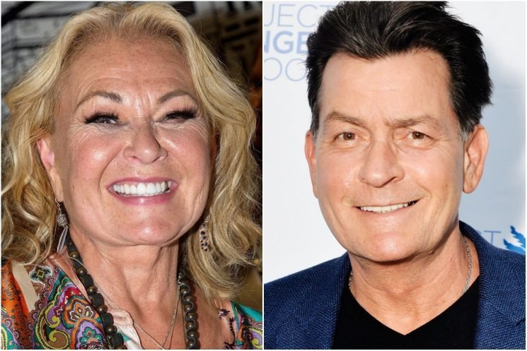 Charlie Sheen says he can relate to Roseanne Barr