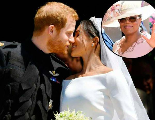 Oprah Winfrey Dishes on Prince Harry, Meghan Markle's Royal Wedding