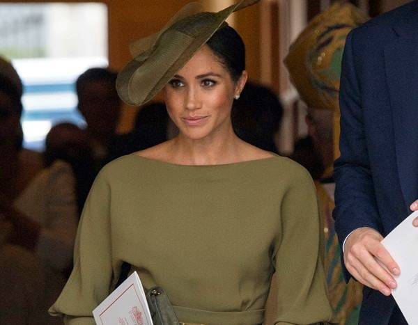 Meghan Markle Channels Her American Roots at Prince Louis' Christening