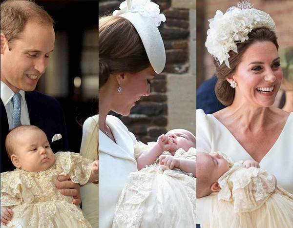 Comparing Prince George, Louis and Princess Charlotte's Christenings