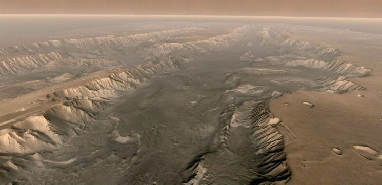Scientists Have Finally Discovered Where All Of The Dust On Mars Is Actually Coming From
