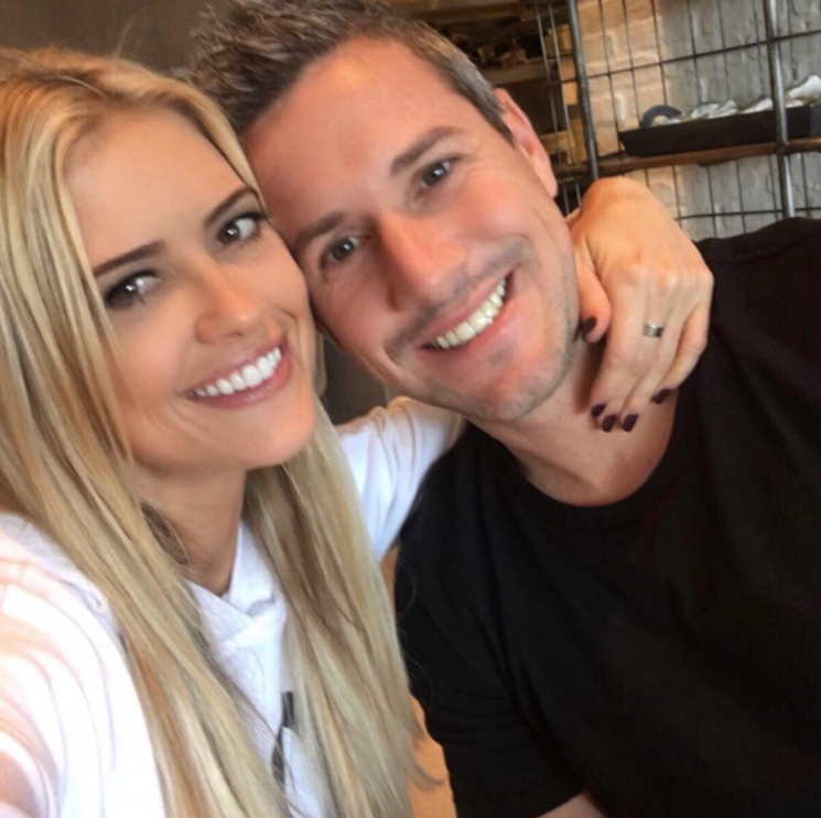 Christina El Moussa's Boyfriend Declares His Love in Sky Writing for her 35th Birthday
