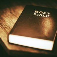 Man arrested for hitting his girlfriend with Bible: police