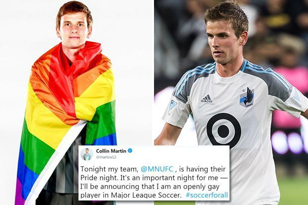 MLS star Collin Martin announces he is gay – and becomes only active male athlete in US pro sports to come out