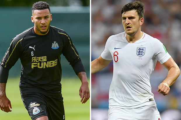 Manchester United can land Harry Maguire if Leicester can land Jamaal Lascelles