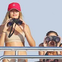 Sylvester Stallone's Gorgeous Daughters Sophia, Sistine & Scarlet Look Cool For The Summer In Bikinis
