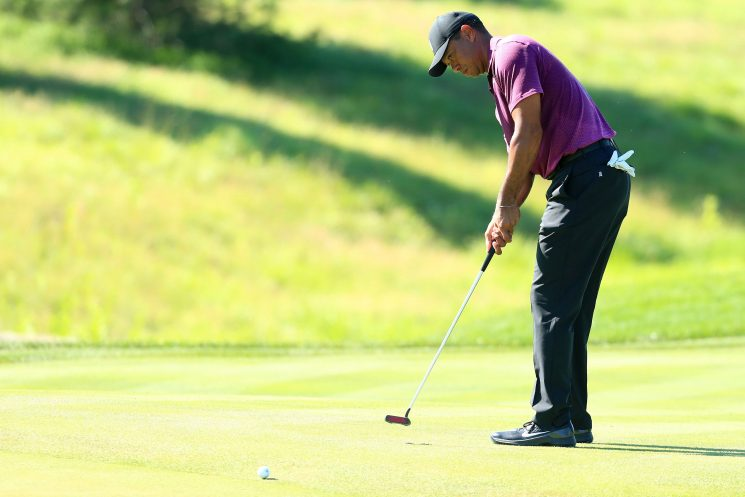 Tiger Woods has a real shot heading into weekend