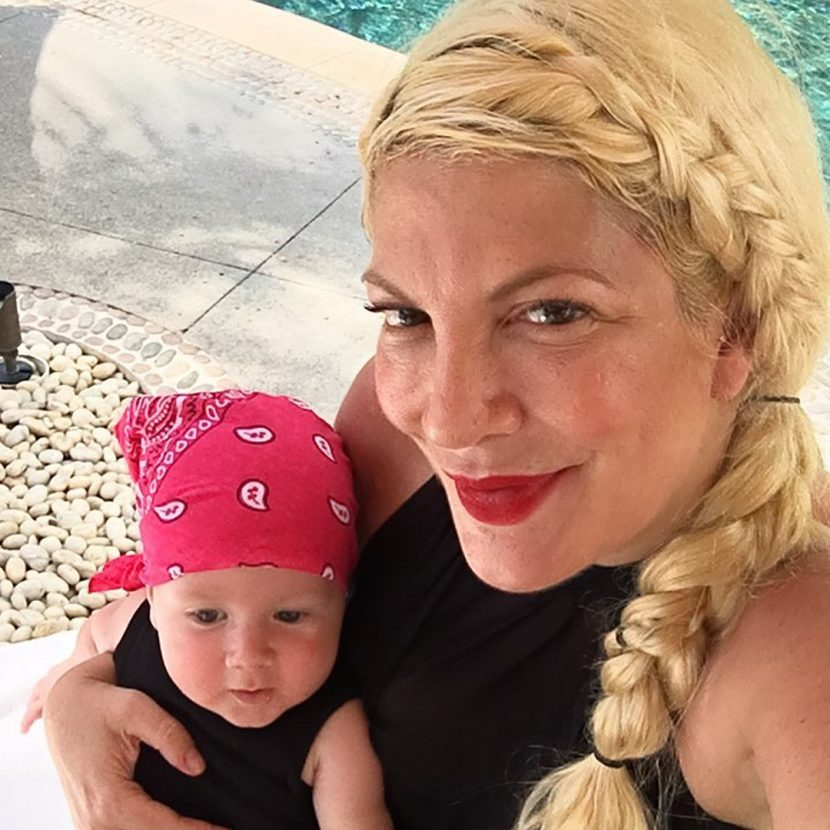 Tori Spelling Says Her 15-Month-Old Son Beau Was 'Stabbed' by Nails at the Four Seasons Hotel