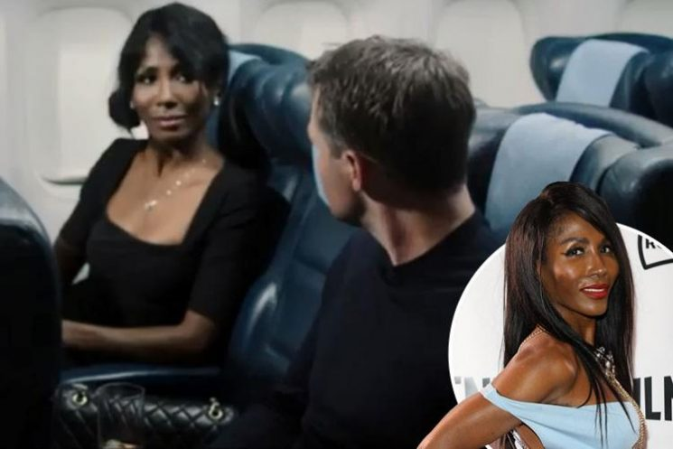 Sinitta plays a concerned passenger on a plane in new film Dead Ringer and bags herself a role in sequel