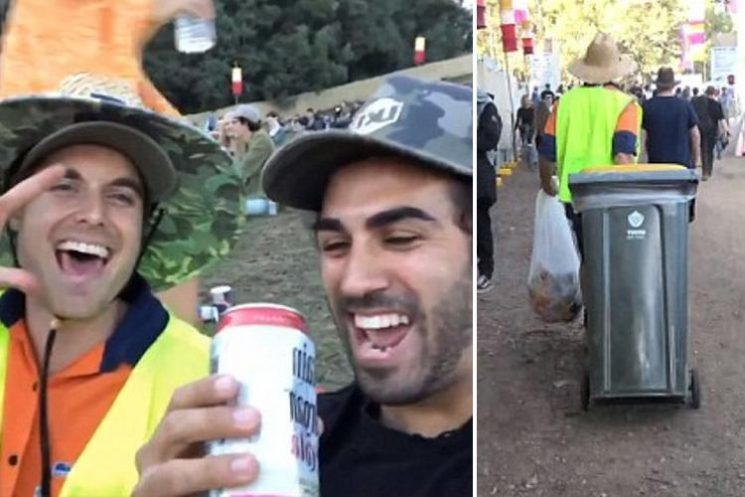 Lads come up with genius plan to sneak into a music festival without paying… and you'll be surprised at how easy it was