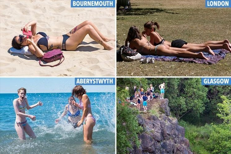UK weather forecast looks like the Med as Brits set for 31C weekend scorcher – and heatwave may last TWO WEEKS more