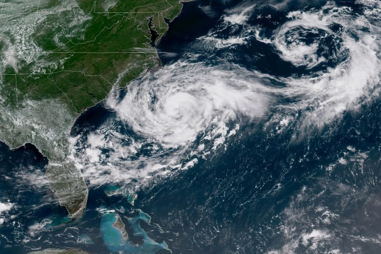 Tropical Storm Chris reaches hurricane strength in Atlantic