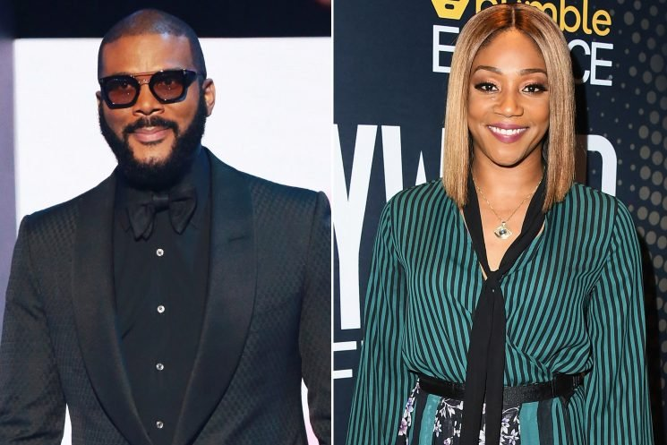 Tyler Perry surprises Tiffany Haddish with pricey Tesla SUV
