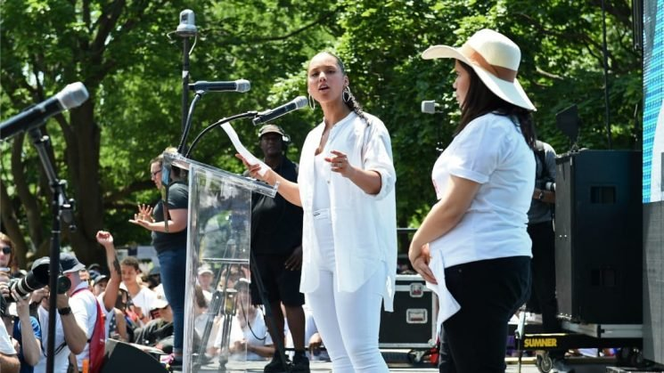 Celebs Lend Support to Families Belong Together at Marches & on Social Media