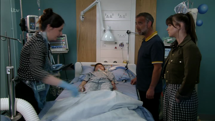 Coronation Street fans outraged as Sophie Webster begs dad Kevin to sue the NHS over Jack's sepsis