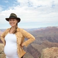 Pregnant Yvonne Strahovski Shows Off Baby Bump in the Grand Canyon as She Celebrates Emmy Nomination — See the Photos!