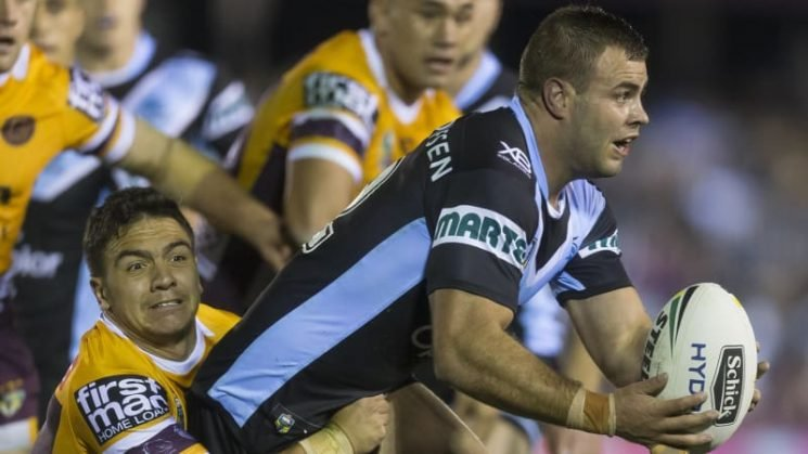 Frustrated Graham keen to give Sharks back some bite