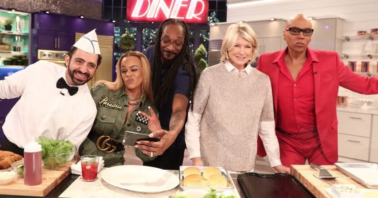 RuPaul Offers to Give Martha Stewart a Lesson in Tucking on 'Martha & Snoop's Potluck Dinner Party' (Exclusive)