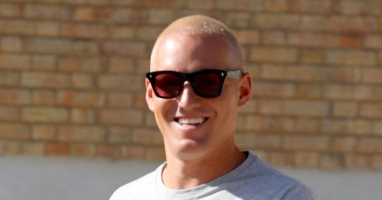 Jamie Laing shows off his regrown hair transplant as he plugs new series of MiC
