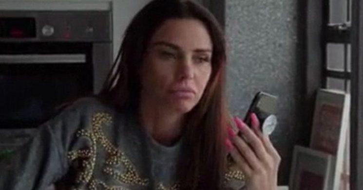 Katie Price weeps after hearing Kieran Hayler has cheated again