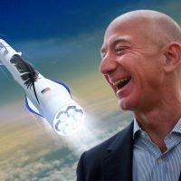 Bezos throws cash at rocket program as space race accelerates