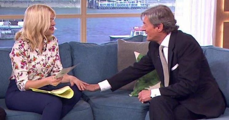 Nigel Havers lands host gig on This Morning after chatting up Holly Willoughby