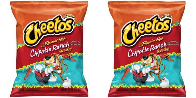 Flamin' Hot Cheetos Come In Ranch Form & You Need Them In Your Life, Stat