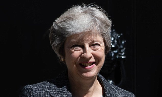 Tory activists lose faith in May's Chequers plan as HALF want her out