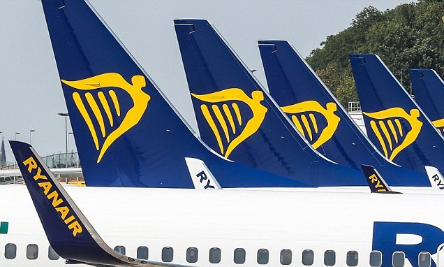 Ryanair pilots in FIVE countries set to strike at once
