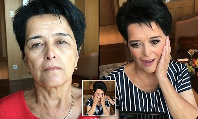 Make-up artist Goar Avetisyan shares incredible video transformation