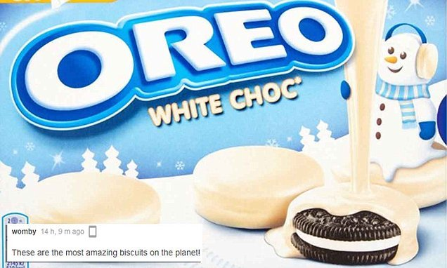 Morrisons launches white chocolate-covered OREOS for £1.50
