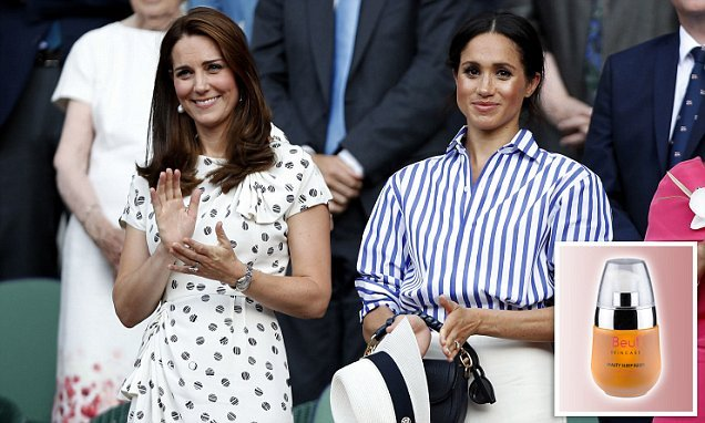 Duchess of Cambridge recommended organic sleep oil to Meghan