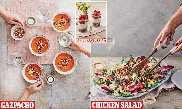 The no-cook dinner party! How to impress with a heat-free feast