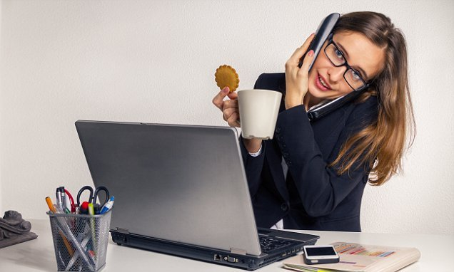 Why you should NEVER dunk a biscuit in your tea in the office