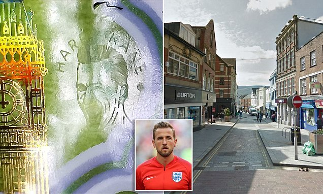 Rare £5 note engraved with a portrait of Harry Kane is spent in Wales
