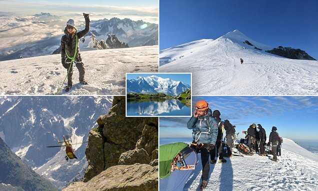 What it's like to summit one of the deadliest peaks, Mont Blanc