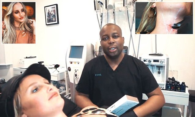 Dr Esho reveals how he is treating 'tech neck' in new filler trend