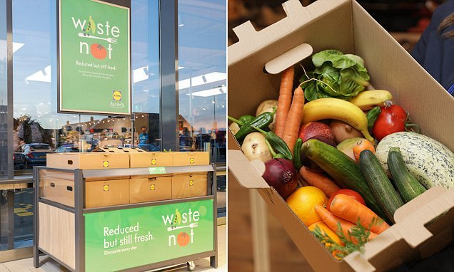Lidl becomes latest supermarket to sell cheaper 'wonky' veg