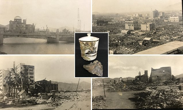 Soldier's haunting images of Hiroshima after atomic bomb go to auction