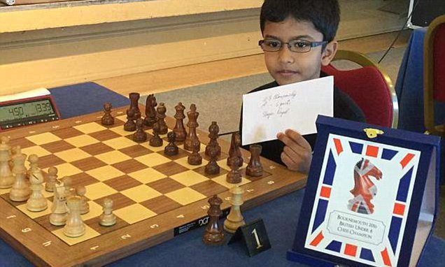 Chess prodigy faces being sent to India when father's visa expires