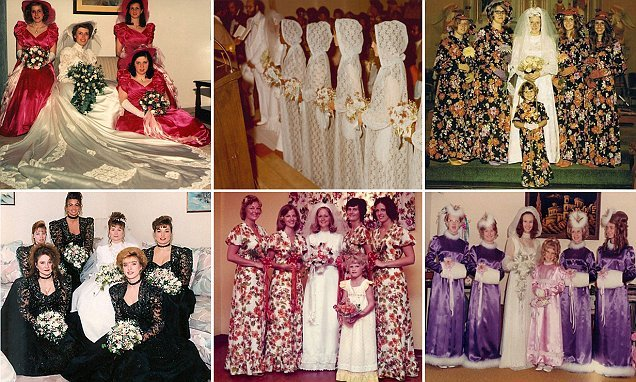 Hilarious pictures reveal worst bridesmaids dresses ever