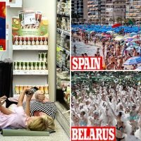 Finnish grocery store holds a SLEEPOVER in red-hot European heatwave