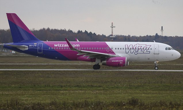 WizzAir named the WORST airline for taking off late