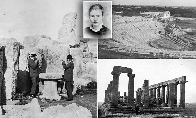 Gertrude Bell holiday photos from 1902 are seen for the first time