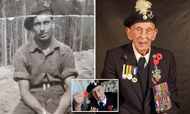 D-Day hero who was one of the first on the beaches dies aged 102