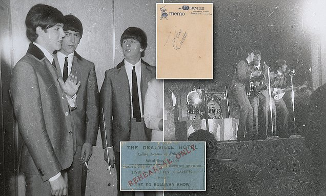 Fan's archive of Beatles items from first U.S. trip up for grabs