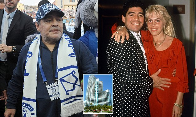 Maradona claims his ex-wife misappropriated $9 million of his money