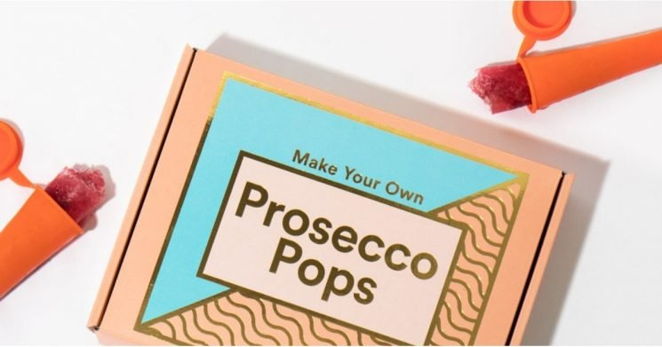 Quench That Summer Thirst . . . With Your Very Own Prosecco Pops!