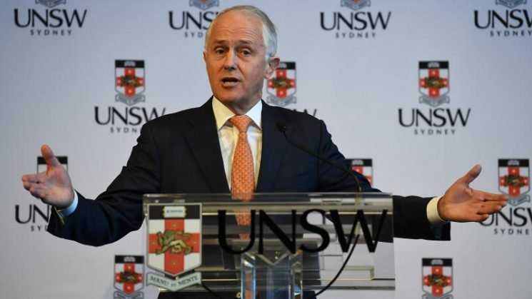 China not a cold war Russia, Turnbull says in conciliatory speech